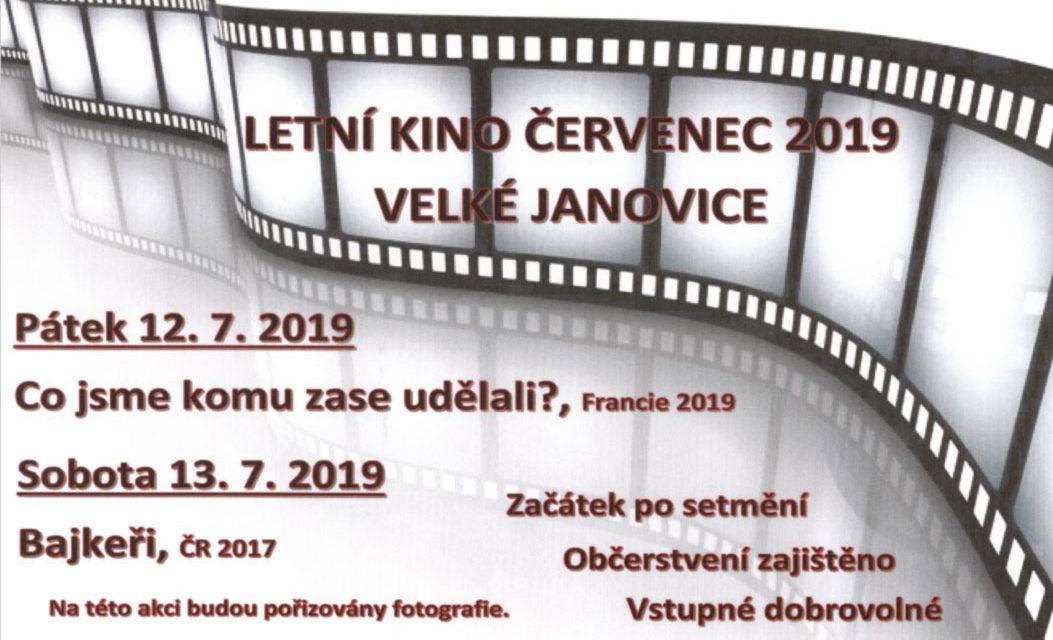 Letní kino Velké Janovice